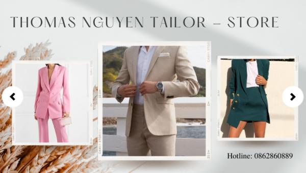 May vest tại shop thời trang công sở Tp. HCM | Thomas Nguyen Tailor