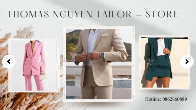May vest tại shop thời trang công sở Tp. HCM   Thomas Nguyen Tailor