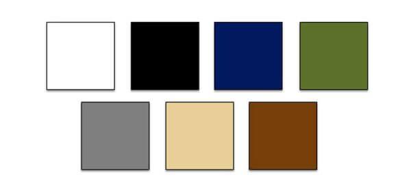 Các gam màu trung tính
