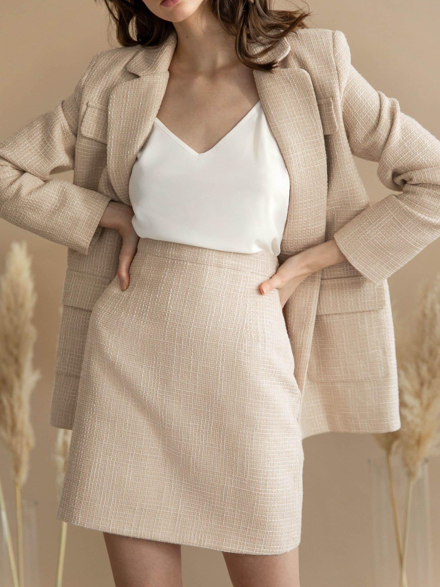 Vest váy công sở